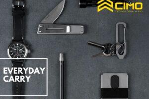 Everyday carry: veja o que é e como utilizá-lo em seu dia a dia!