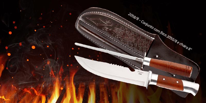 melhor faca para churrasco - Cutelaria Cimo
