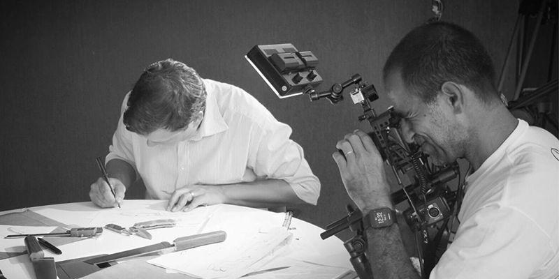 homem-filmando-cutelaria-cimo-globo-rural