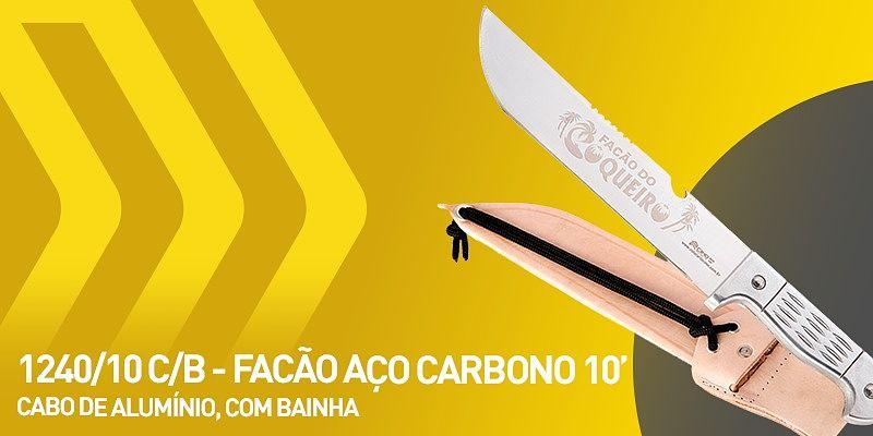 facão carbono 10