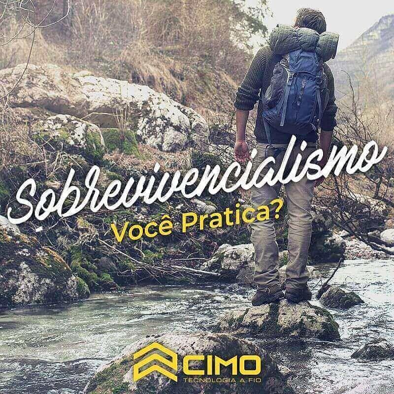 O sobrevivencialismo tem ganhado cada vez mais adeptos no Brasil!