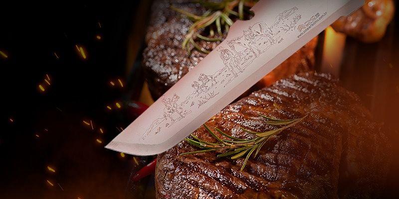 faca para churrasco
