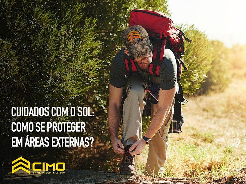 Cuidados com o sol: como se proteger em áreas externas?