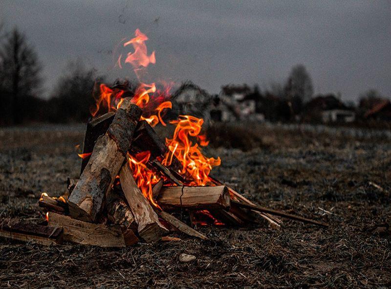 tipos de fogueiras cone cutelaria cimo