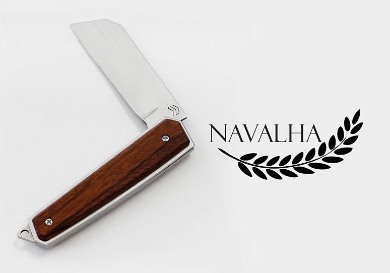 canivete de bolso estilo navalha