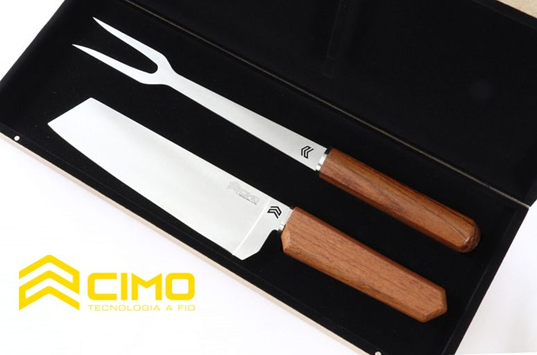Oiti: a nova linha de facas para churrasco da Cimo