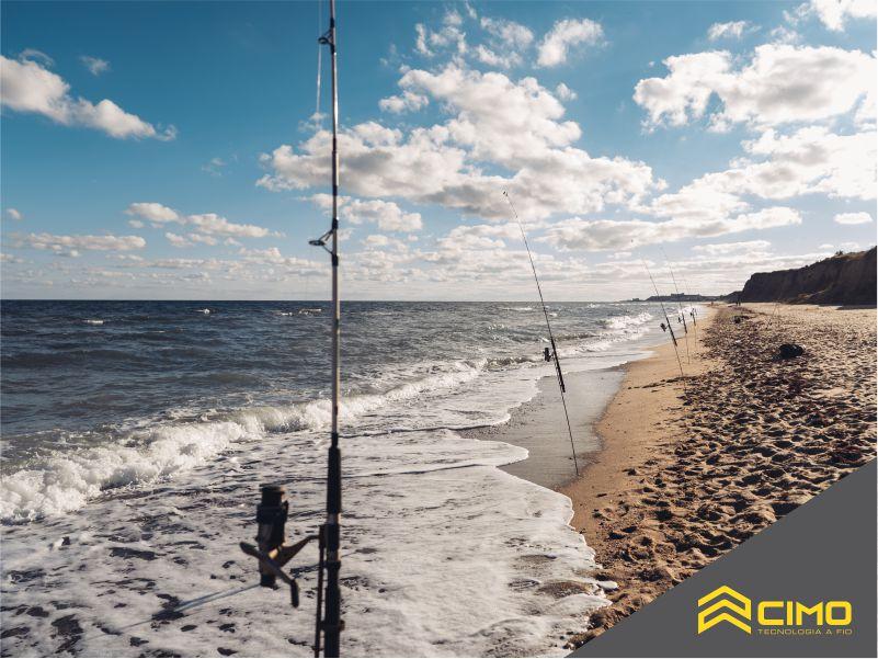 Praia e pesca