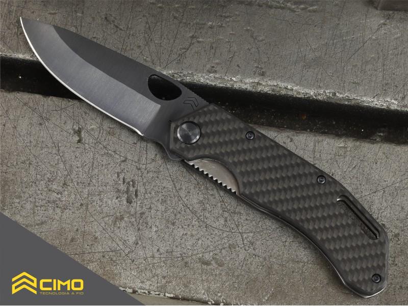 imagem de canivete black titanium