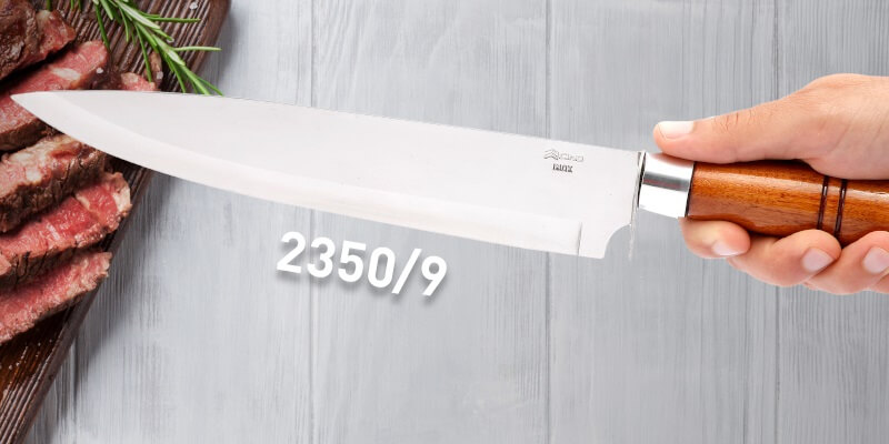 faca para churrasco 2350/9 - Cutelaria Cimo