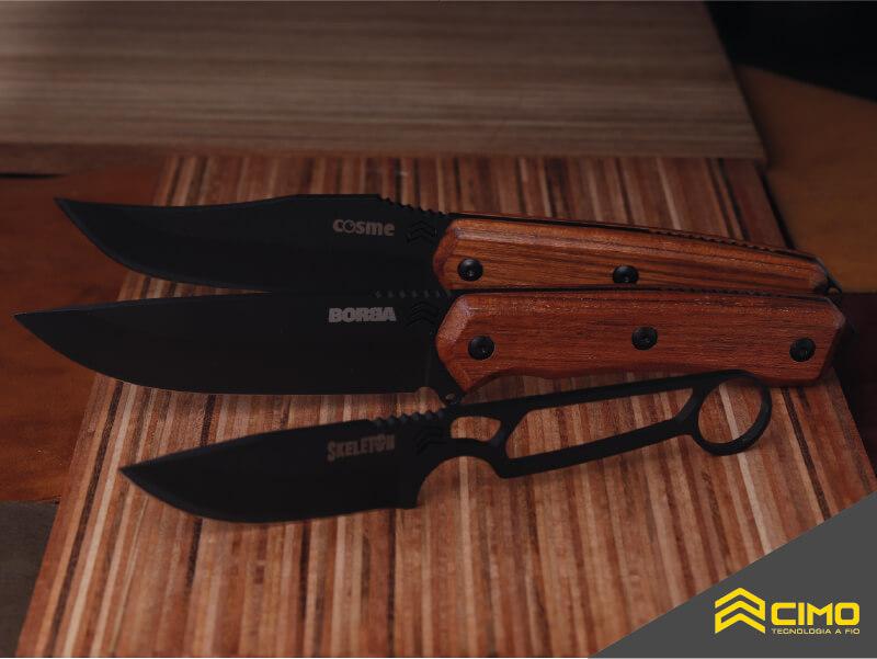 Imagem de conjuntos de facas cimo